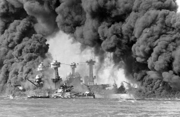 偷袭珍珠港美国损失_二战中日本为何偷袭美国珍珠港?有两点原因,迫使日本必须这么做