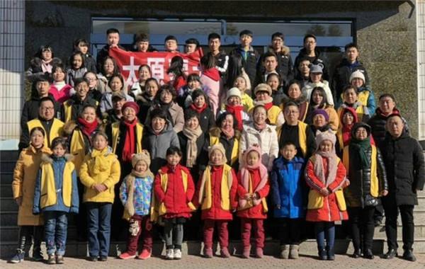 寒假小学生志愿者前往太原社会福利院看望孤儿
