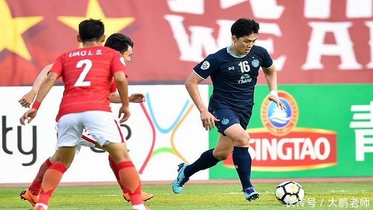 亚冠广州恒大主场憾平武里南联队,看看赛后泰国球迷如何评论