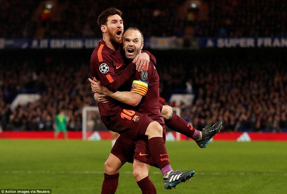 欧冠-威廉远射破门梅西扳平 切尔西主场1-1巴萨