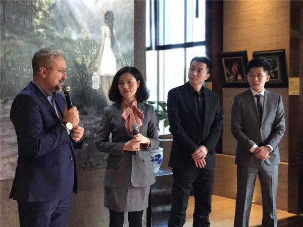 北京万达嘉华酒店艺术画廊第八次画展开幕