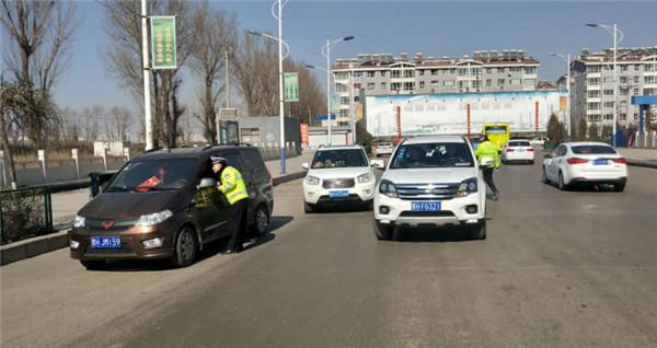 原平市公安交警大队圆满完成春节期间道路交通安保任务