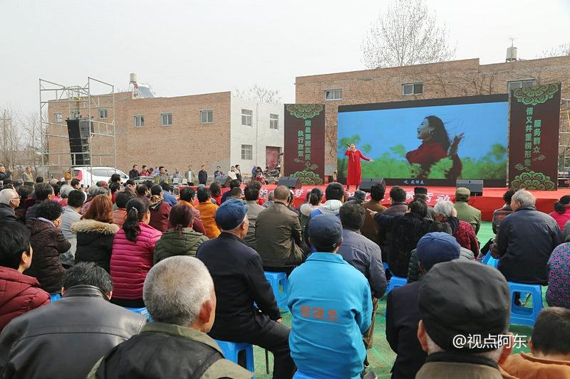 西安骏马村载歌载舞闹元宵  欢庆地铁14号线开建 - 视点阿东 - 视点阿东