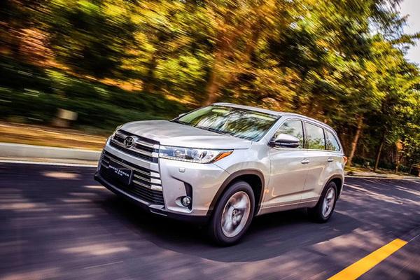 新款丰田汉兰达上市 售23.98-33.08万元