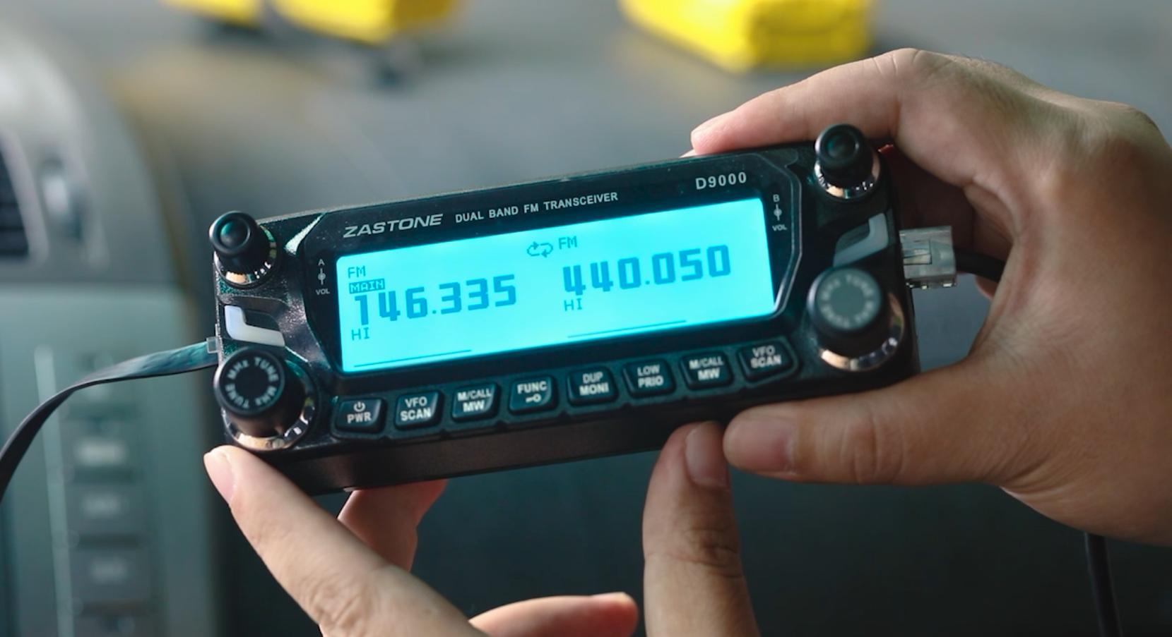 比亚迪安装ZASTONE D9000车载电
