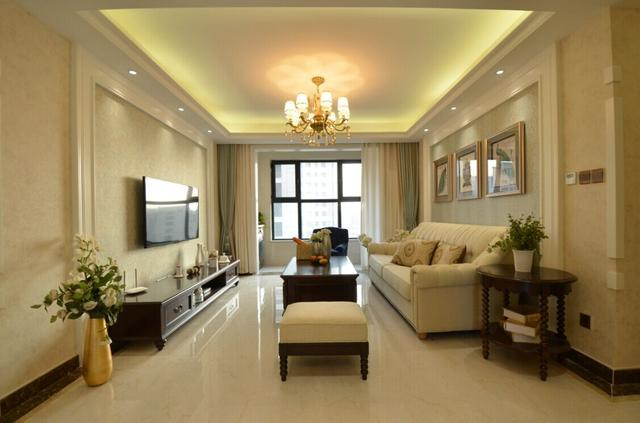 花18万装修的新房,客厅太好看了,没想到
