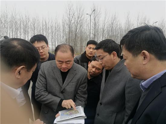 西安通用航空产业集团董事长陈著元一行来淮考察
