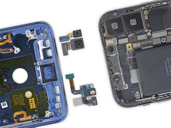 三星S9拆解/虐机出炉:双摄秘密揭晓、额头并无黑科技的照片 - 7