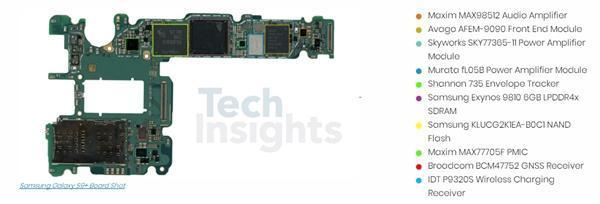 三星S9拆解/虐机出炉:双摄秘密揭晓、额头并无黑科技的照片 - 6