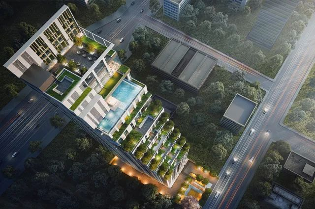 泰国曼谷CBD中心(素坤逸大道)双轨豪华公寓-MUNIQ Sukhumvit