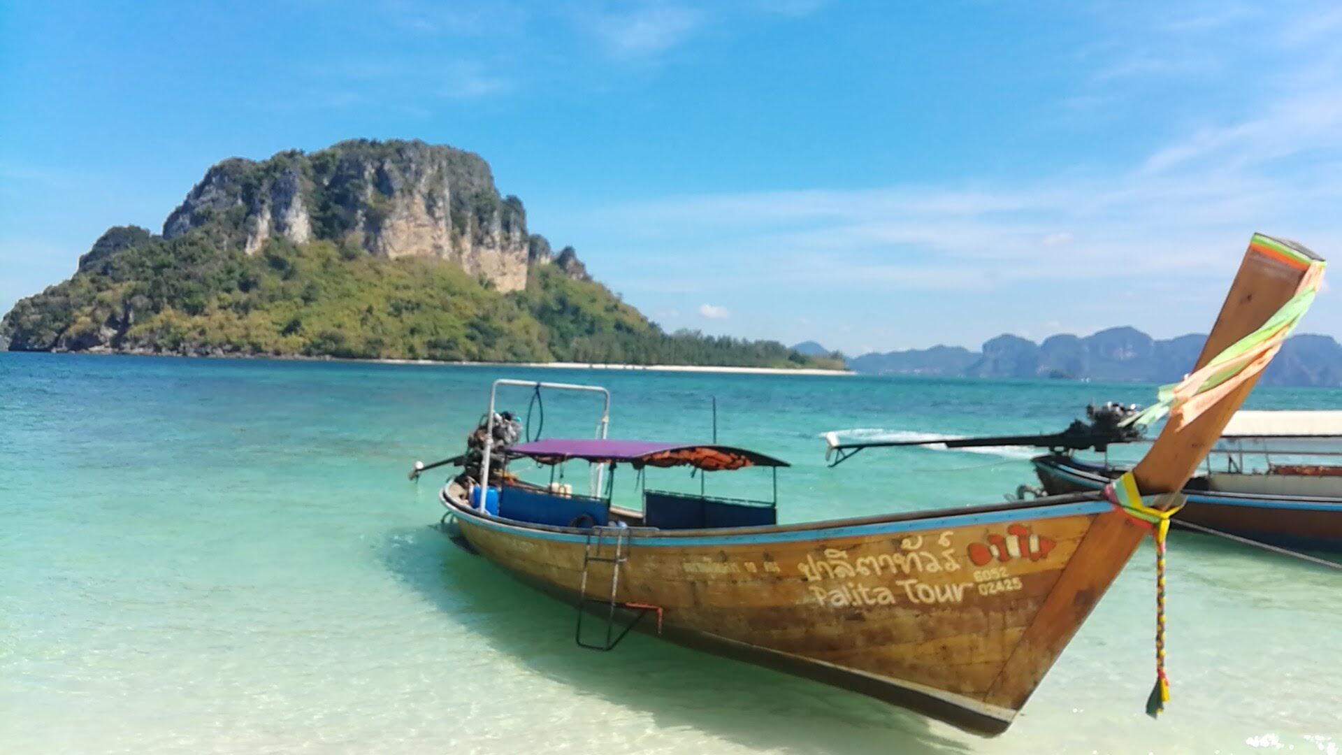 岛地�_泰國甲米/喀比4天3夜攻略大公開DAY-2陽光·海灘·比堅尼