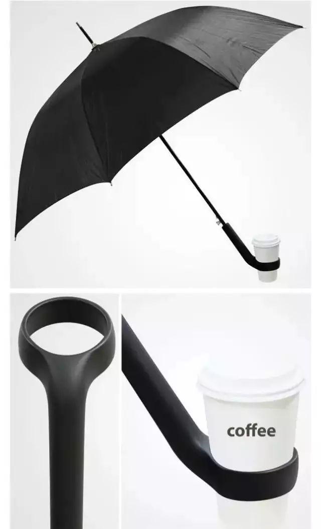 伞—可放置杯子的伞