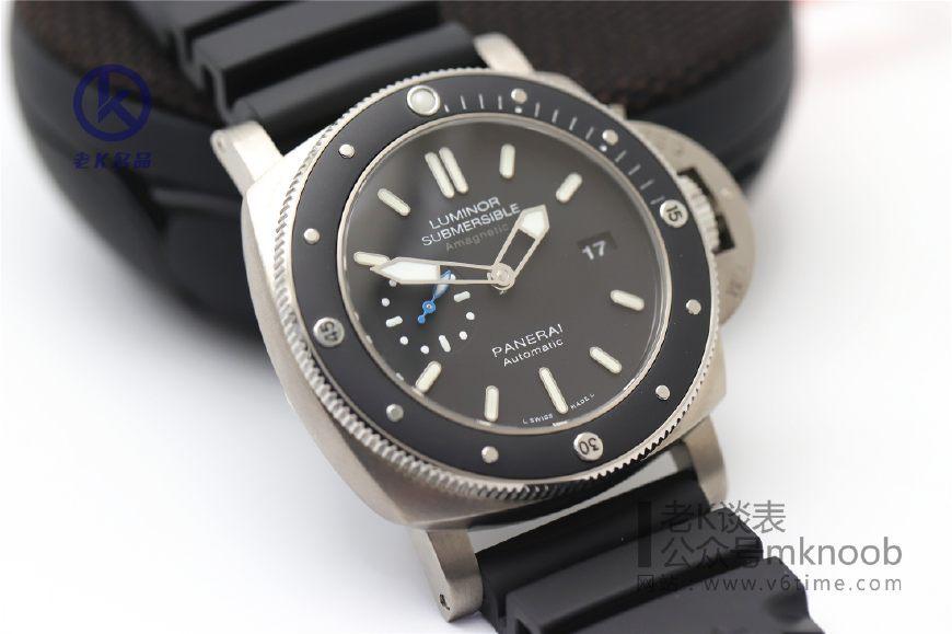 老K谈表第228期:<wbr>夏日潜水必备的腕表,除了劳力士,这款沛纳海也是不错的选择