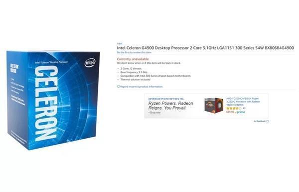 Intel 8代酷睿23款桌面CPU齐亮相:300元的赛扬来了的照片 - 3