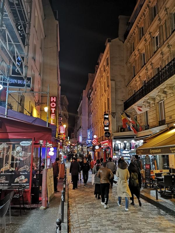 华为三摄P20 Pro巴黎街拍:夜景无敌 谁敢比?的照片 - 16