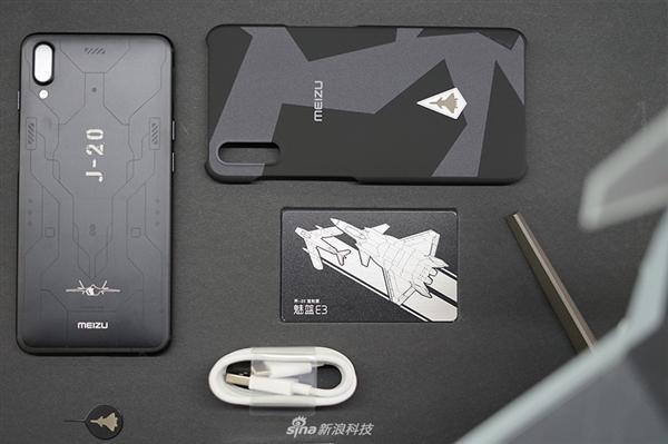 魅蓝E3歼-20定制典藏版开箱:颜值爆表的照片 - 6