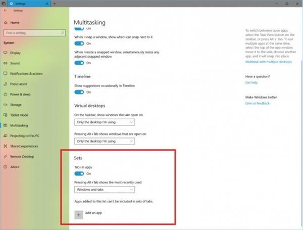 Win10 Build 17639更新:强化Sets功能的照片 - 2