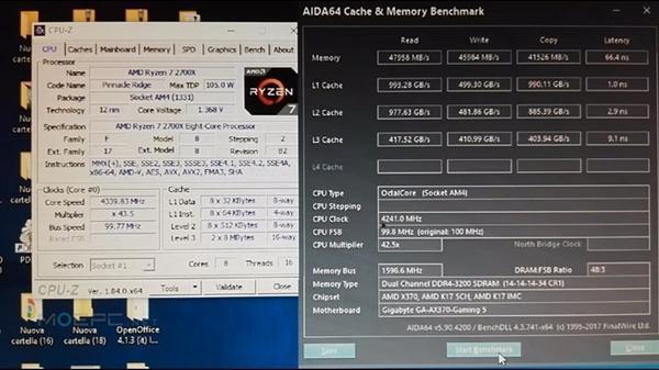 AMD锐龙7 2700X性能批量曝光:4.3GHz秒i7-8700K的照片 - 7