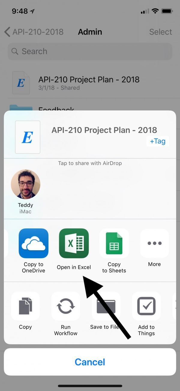 iOS端Office应用更新:可直接在Files应用中打开的照片 - 2