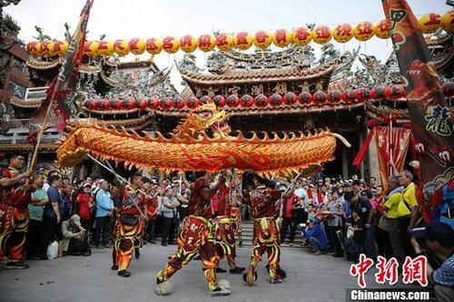 as one of the most prestigious religious events in taiwan april 13 taichung tachia mazu rotated around taguig town the castle started and the initiative