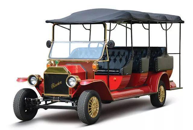 电动老爷车适用性强,为景区平添几分贵族气息