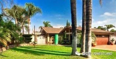洛杉矶科洛纳独栋别墅3房2卫保养精良绿色生态让您尽享富氧生活46.5万美元