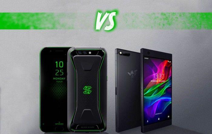游戏手机你选谁?黑鲨和Razer Phone外观规格对比
