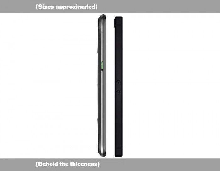 游戏手机你选谁?黑鲨和Razer Phone外观规格对比的照片 - 4