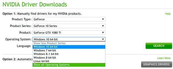 NVIDIA已放弃32位系统:驱动程序在官网消失的照片