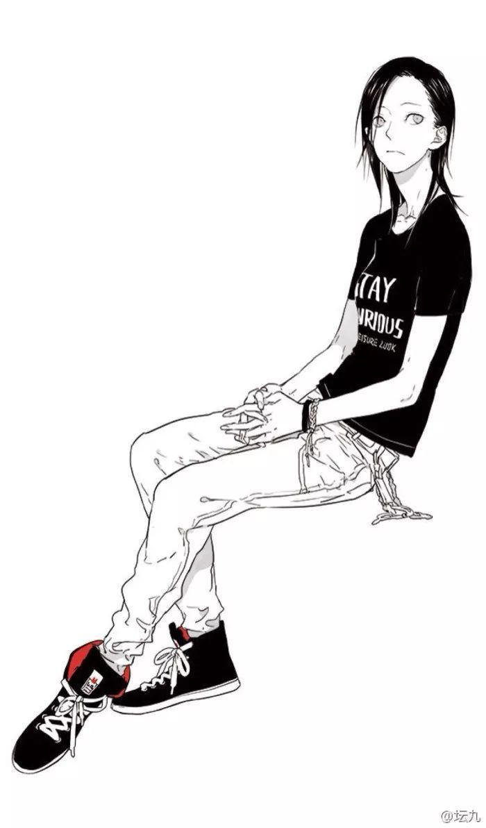 慕斯坛九old先本人照片_人设为男性,实际为女生的人气漫画家:坛九