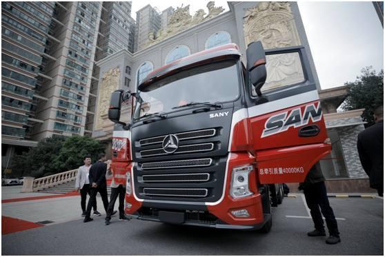 """近千家服务商加盟 三一重卡要做卡车界的""""小米"""""""