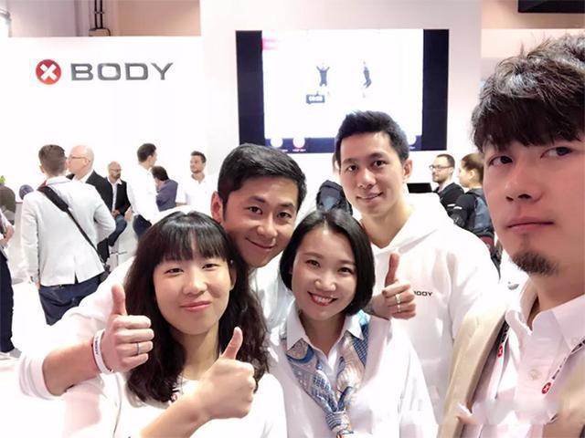 整个XBODY团队(包括中国区CEO杨煦、销售团队殷爽、王贵华、培训师团队柳磊、朱文德)为大家献上了精彩的四天服务