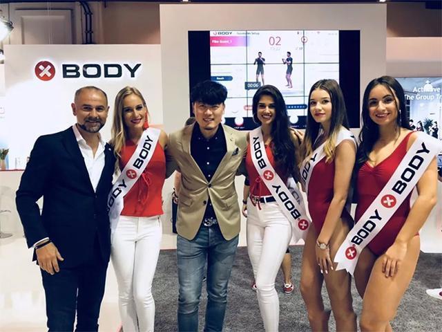 XBODY中国区CEO杨煦与国际总裁Csaba