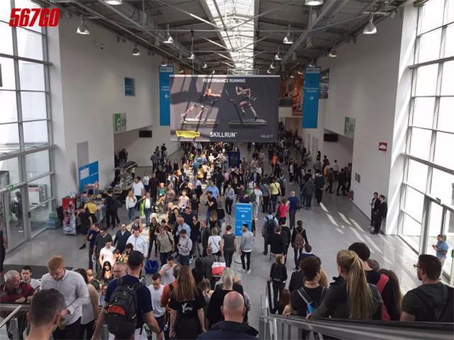 全球健身与康体盛会在科隆国际展览中心