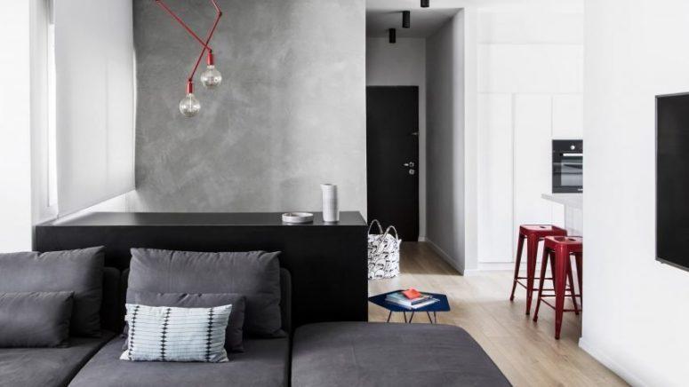 现代化的公寓专为年轻家庭而设计,新颖别致且功能齐全