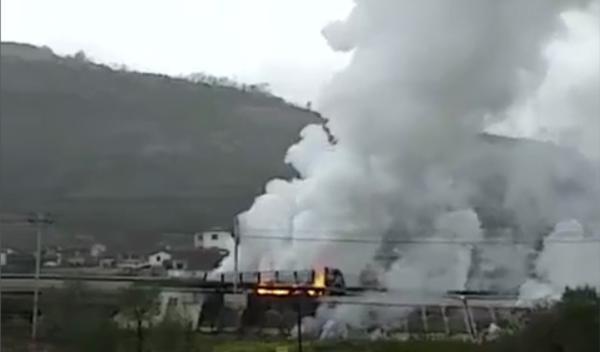 天水市环保局:事故车辆载31吨五硫化二磷,城区