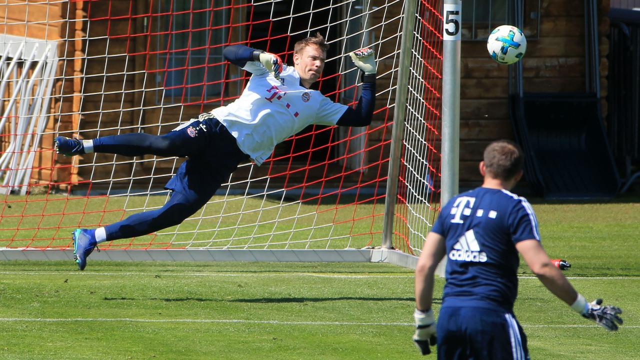 德国门神进行首次合练 拜仁门将人选引多方猜测