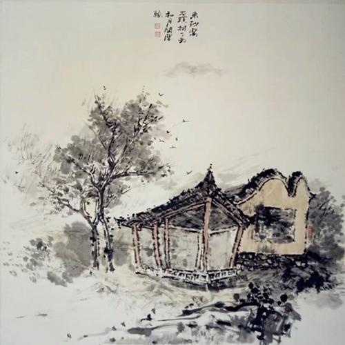 侯艳芳水墨画:梦幻心影