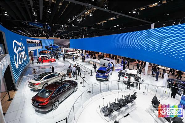 福特在北京车展上启动最大规模新车发布