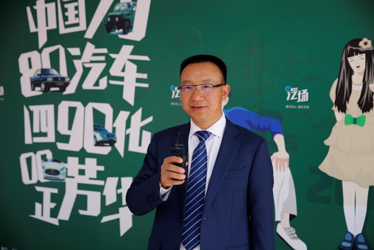 50款新车型将助力福特在中国 2018北京车展专访长安何朝兵