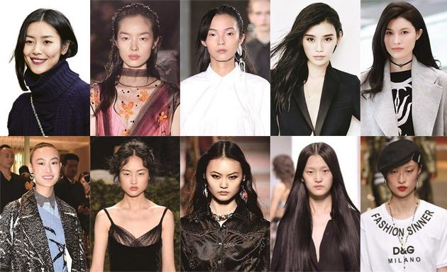 福布斯公布中国超模Top10 这十位超模做了点啥
