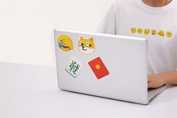 微信官方黄脸T恤上新:表情包太萌的照片 - 5