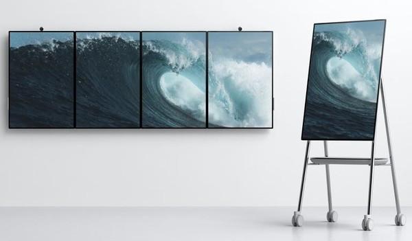 微软发布Surface Hub 2 - 专为未来的办公室而设计