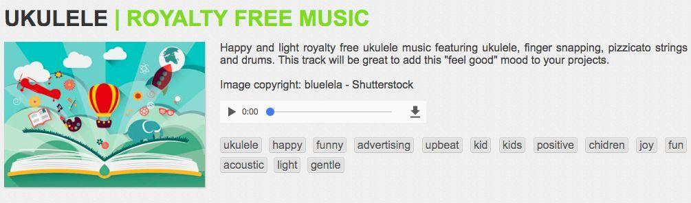 Bensound 无版权的音频网站 声音素材 第2张