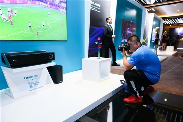 海信推出80吋激光电视新品 全面突击65吋以上市场的照片 - 7