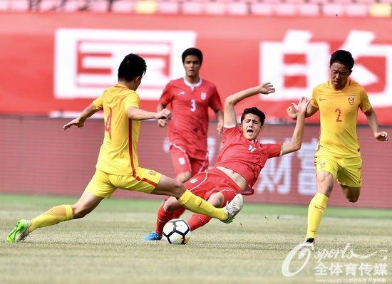 四国赛-刘成卓造对手乌龙 U17国足1-4遭伊朗逆转