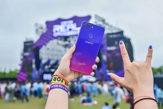"""秀参数的自嗨广告过时了,OPPO红蓝音乐节要和用户""""一起嗨"""""""