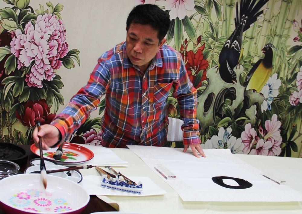国画艺术家邱汉桥艺术作品拍卖行情