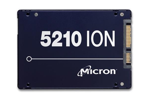 写入真脆弱!美光全球首发QLC闪存SSD:最大7.68TB