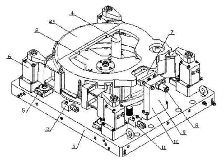 如何改进液压夹具结构  第1张